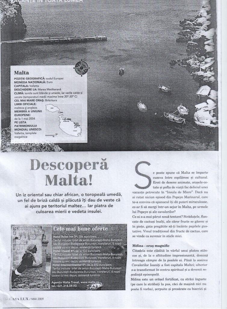 Descopera Malta